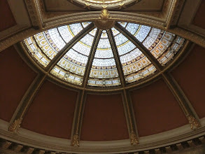 Photo: One of the ceilings of the Eisenhower Executive Office Building