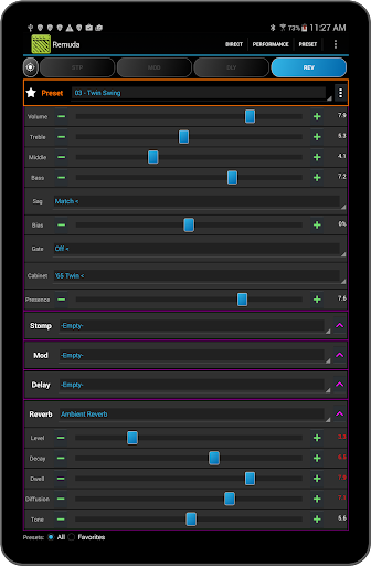 Remuda Lite - USB Guitar Amplifier Control App 1.8.4-lite screenshots 9