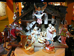 Photo: The beautiful Fontanini Nativity has been my favorite for years.  Out of our price range, but so lovely; they make an entire Bethlehem Christmas village.