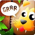 Learning animal sounds is fun icon