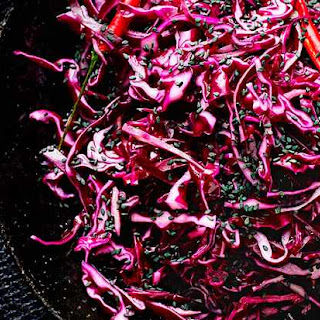 Asian Pickled Red Cabbage Recipe