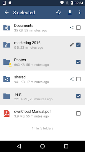 ownCloud v2.4.0(paid)
