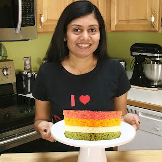 Rainbow Dhokla
