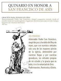 Oracion del santo Francisco - náhled