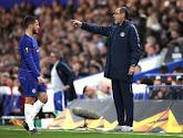 Maurizio Sarri exaspéré par Eden Hazard lors de sa période à Chelsea