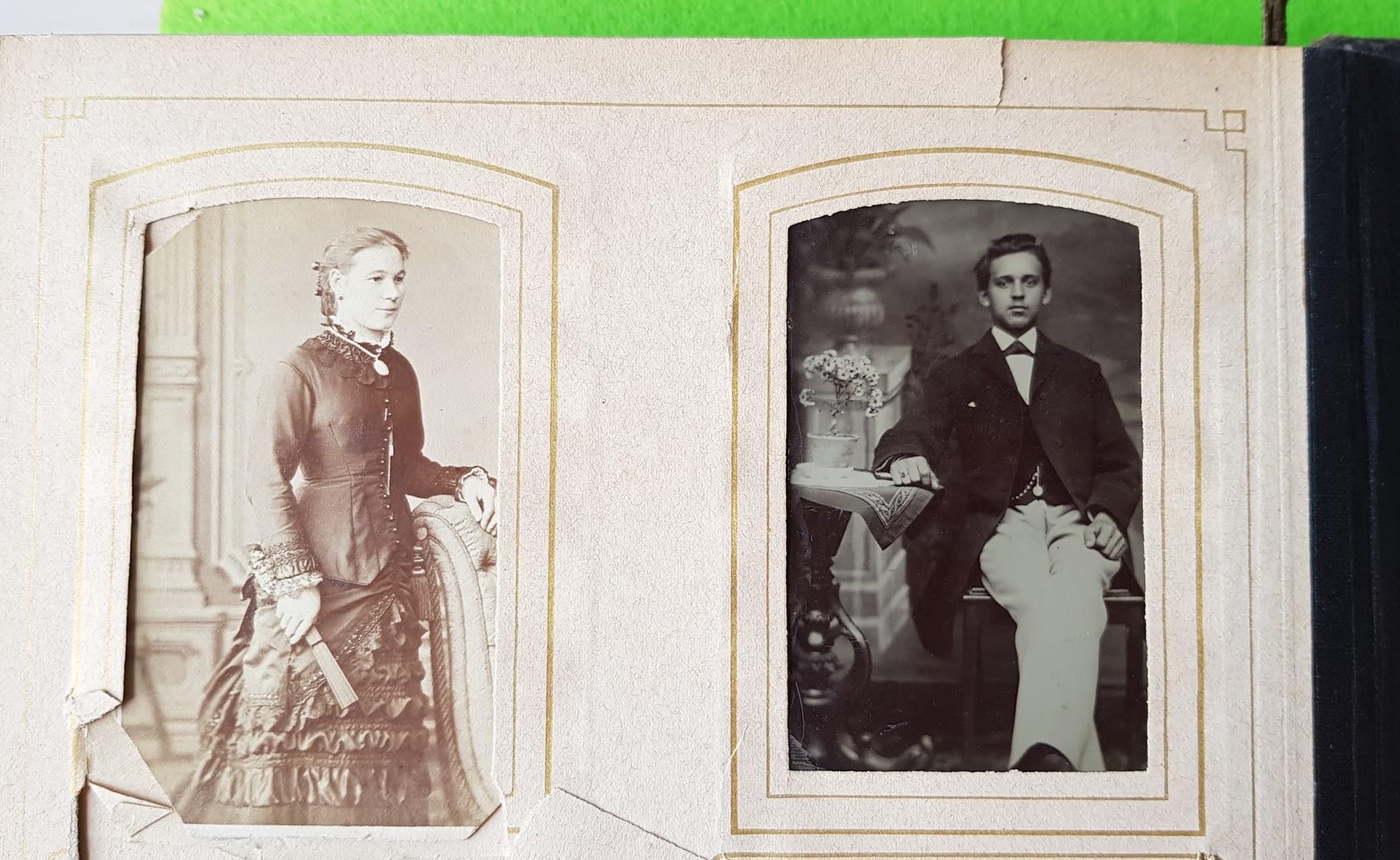 Fotoalbum vor 1900
