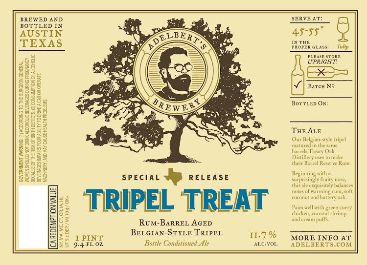 Logo of Adelbert's Tripel Treat