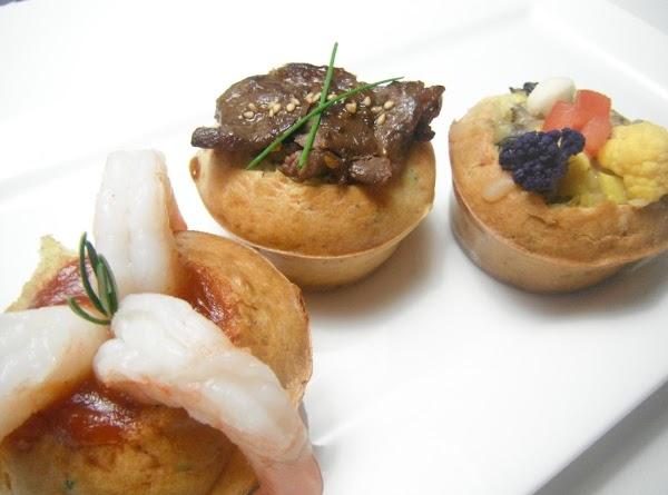 Savory Fresh Herb And Parmesan Cheese Muffins Trio Recipe