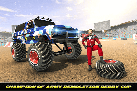 Army Monster Truck Demolition : Derby Games 2020 for PC-Windows 7,8,10 and Mac apk screenshot 11