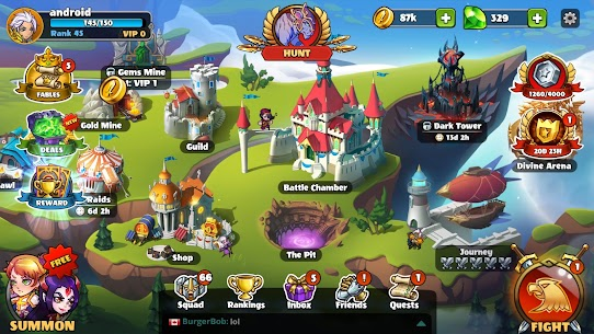Mighty Party: Magic Arena Mod Apk 1.76 (MENU MOD) 5