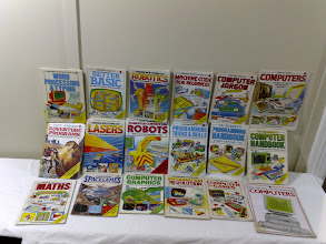 Photo: Lots of USBORNE childrens' computer books. The very best.