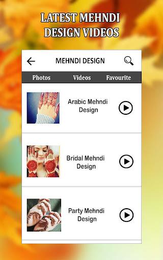 Simple Mehndi Designs Videos Tutorial Mehndi 2018  screenshots 6