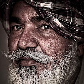 singh by Don Eugene Roces - People Portraits of Men ( senior citizen )