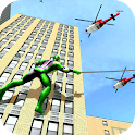 Spider Rope Man Street Fighter: Superhero Games icon