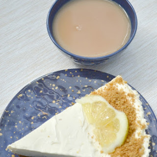 Lemon & Ginger No-Bake Family Cheesecake.