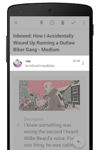 InboxIt - Share to mail Screenshot