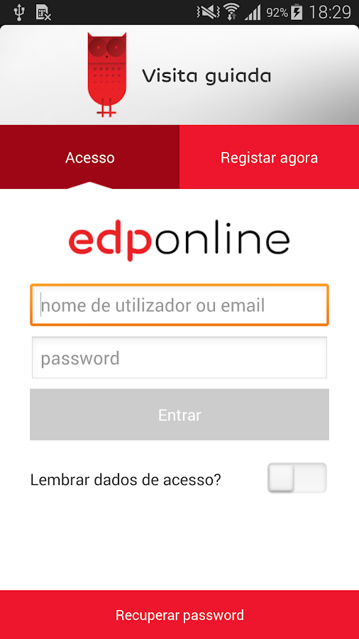EDP Online - screenshot