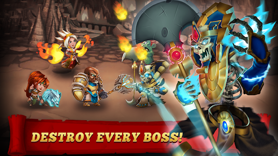 Mod Game Brave Soul Heroes - Idle Fantasy RPG for Android