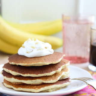 Macadamia Nut Pancakes with Homemade Coconut Syrup Recipe