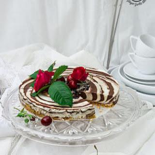 No-Bake Zebra Cheesecake [Gluten-free]| Video