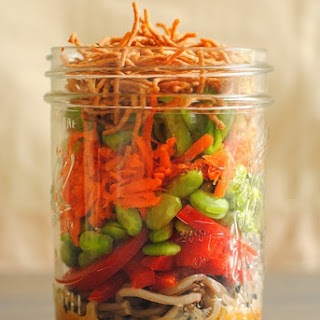 Asian Noodle Salad Jars Recipe