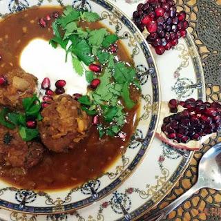 Ashe Anar | Pomegranate Soup Recipe