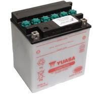 YUASA MC batteri 30Ah YB30L-B lxbxh=168x132x176mm