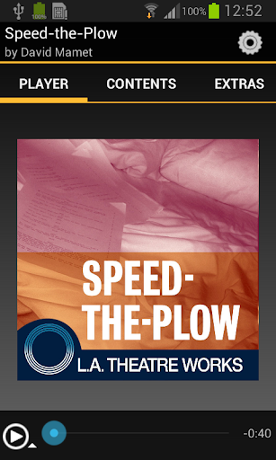 an analysis of the topic of the speed of the plow Dive deep into david mamet's speed-the-plow with extended analysis, commentary, and discussion.