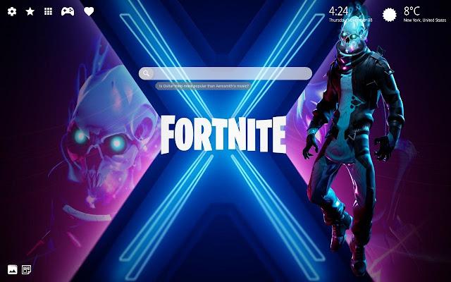 Eternal Voyager Fortnite Hd Wallpaper Theme