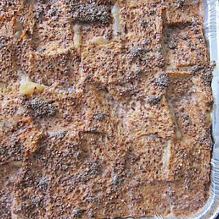 Applesauce Bread Pudding.