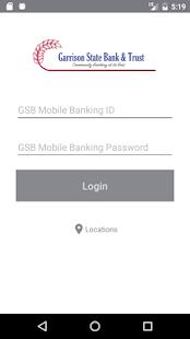 Garrison State Bank Mobile - náhled