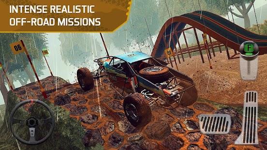 4x4 Dirt Offroad Parking Screenshot