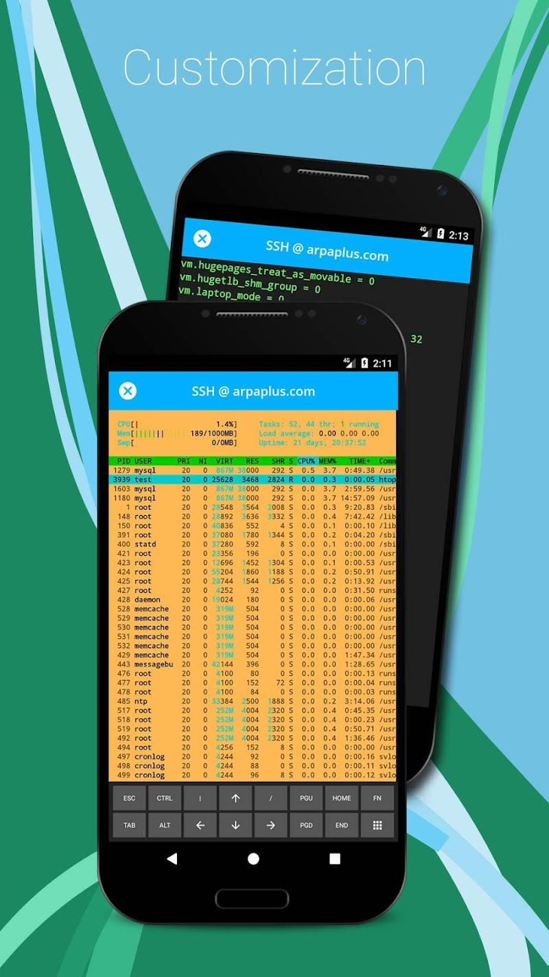 SSH/SFTP/FTP/TELNET Advanced Client - Admin Hands Screenshot 9