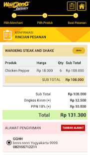 Waroeng Steak and Shake- screenshot thumbnail