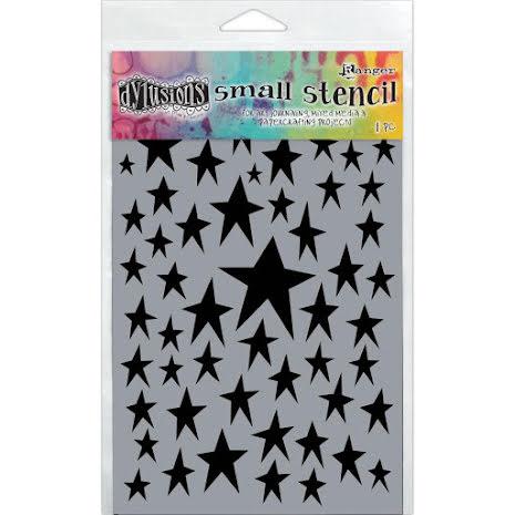 Dylusions Stencil 5X8 - Star Struck