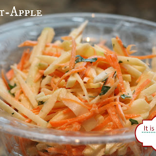 Carrot Apple Ginger Slaw