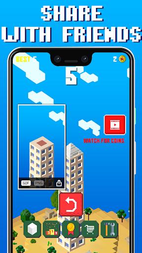 Craft Tower -  Stacking Blocks Building Tower Game 1.06 screenshots 3