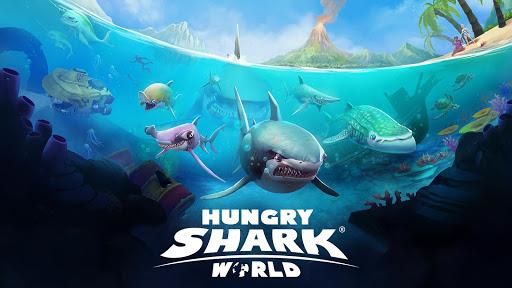 Hungry Shark World  captures d'u00e9cran 8