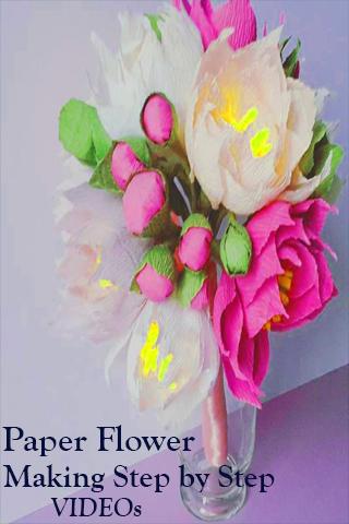 Paper flower making step by step videos app apk download apkpure paper flower making step by step videos app screenshot 3 mightylinksfo