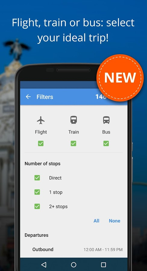 Liligo Find Cheap Flight Deals- screenshot