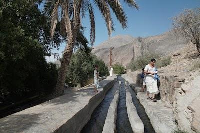 Falaj-Khatmayn in Birkat Al Mouz