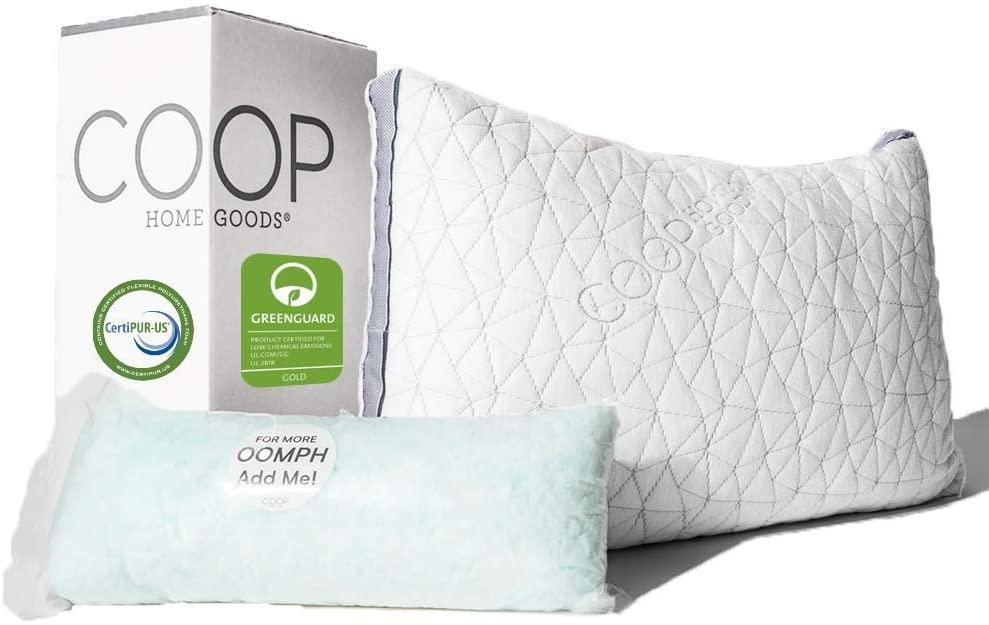 COOP HOME GOODS - best pillow for neck pain