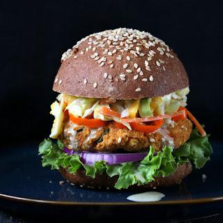 BBQ Lentil Burgers