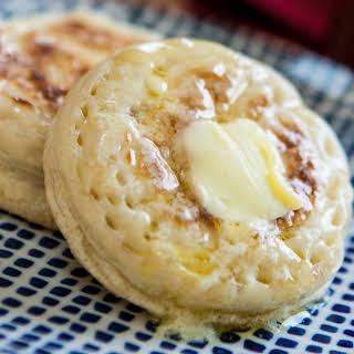 British Crumpets And Jam.