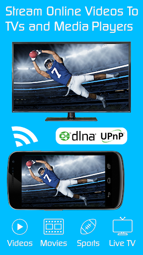 Video & TV Cast | DLNA Player & UPnP Movie Mirror 1.11 screenshots 1