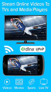 Video & TV Cast | DLNA Player & UPnP Movie Mirror 1