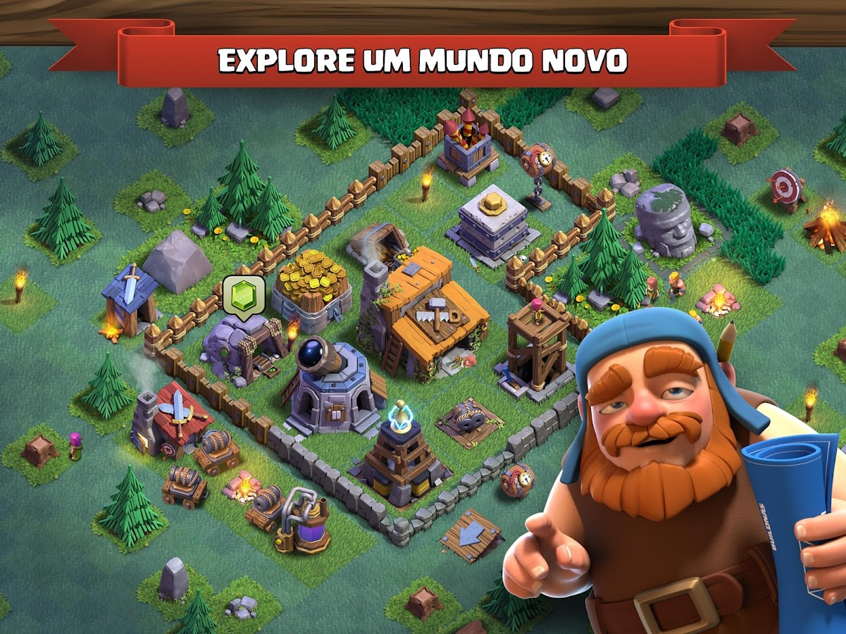 Clash of Clans: captura de tela