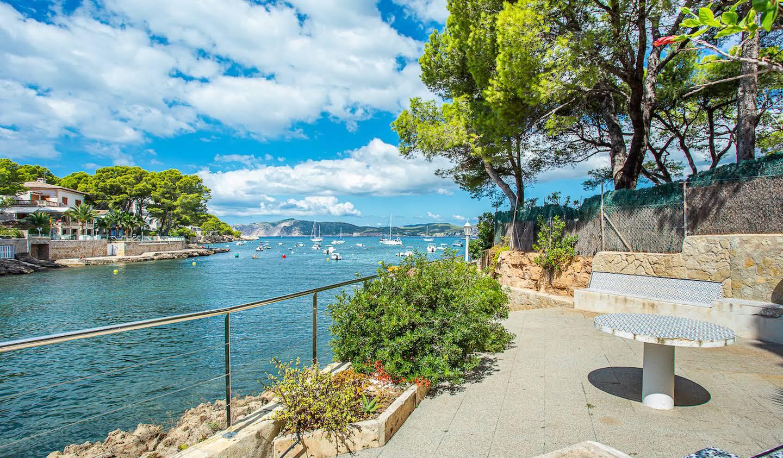 Appartement avec terrasse en bord de mer Santa Ponsa