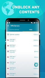 Anywhere VPN -Secure Free Unlimited VPN Proxy WiFi APK screenshot thumbnail 1