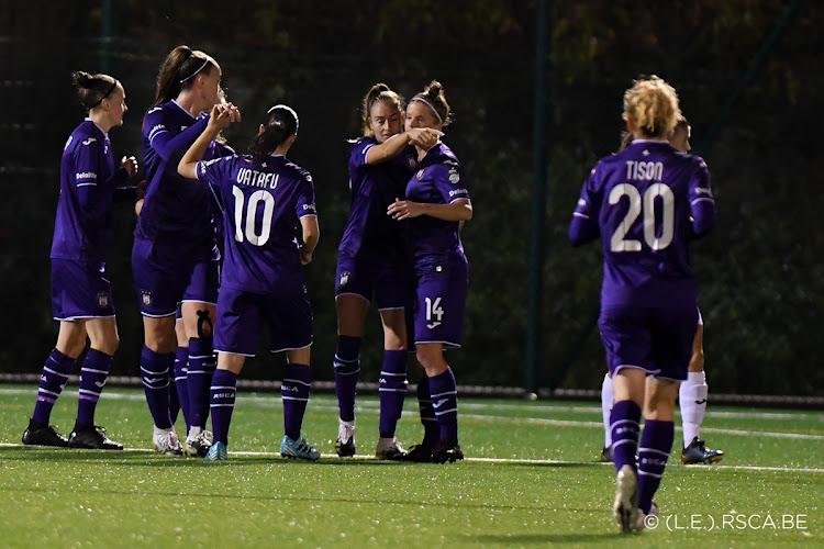 🎥 De beelden van de 9-0 van Anderlecht tegen Aalst in Super League